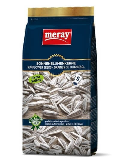 Meray Sonnenblumenkerne CUkel Blau Gesrösted und extra Gesalzen - Extra Tuzlu Ay Cekirdegi 300 g