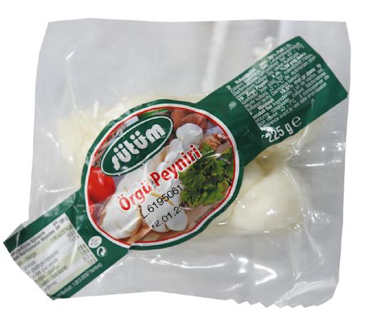 Sütüm Gurme Schnitkäse 36% Fett - Örgü Peyniri 225g