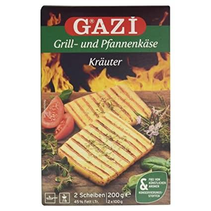 GAZI Grill & Pfannenkäse Kräuter 200g
