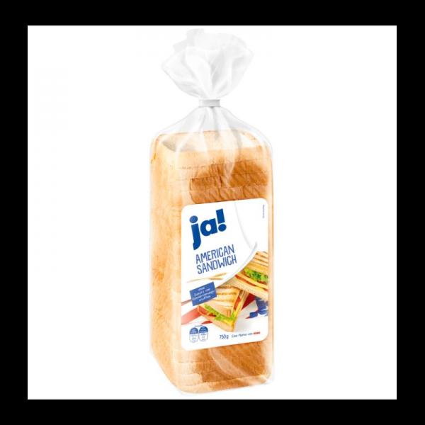 Ja! American Sandwich Toast 750g