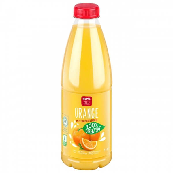 REWE BW Orangensaft 100% 1L