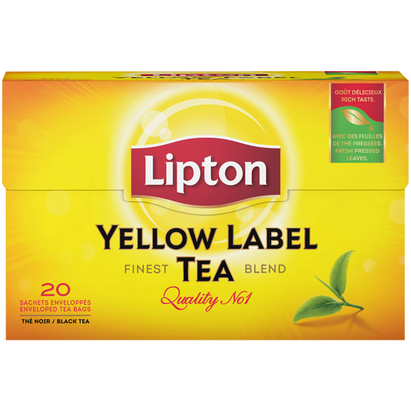 Lipton Yellow Label Schwarz Tee 20 Beutel 40g