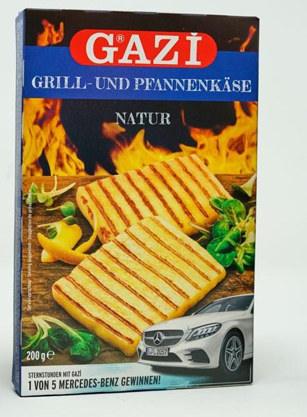 GAZI Grill & Pfannenkäse Natur 200g