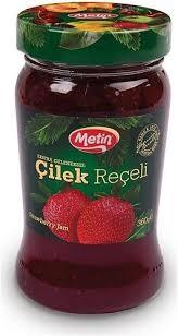 Metin Erdbeer Marmelade - Cilek Receli 360g