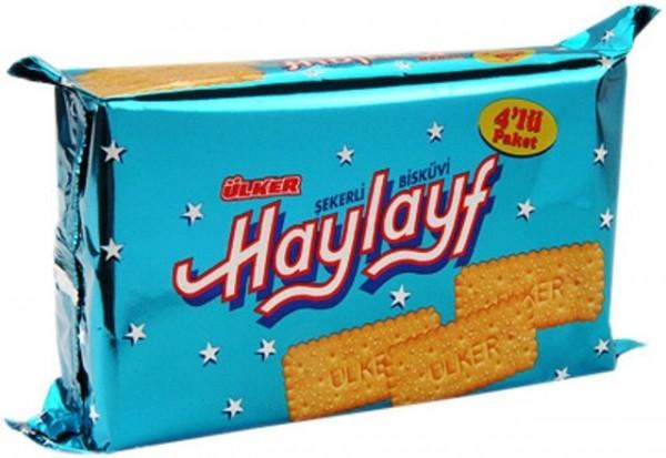 Ülker Haylayf gezuckerte Kekse 4x60g