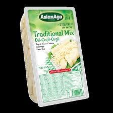 Aslanaga Traditional Mix - Dil-Cecil-Örgü Peyniri 200g