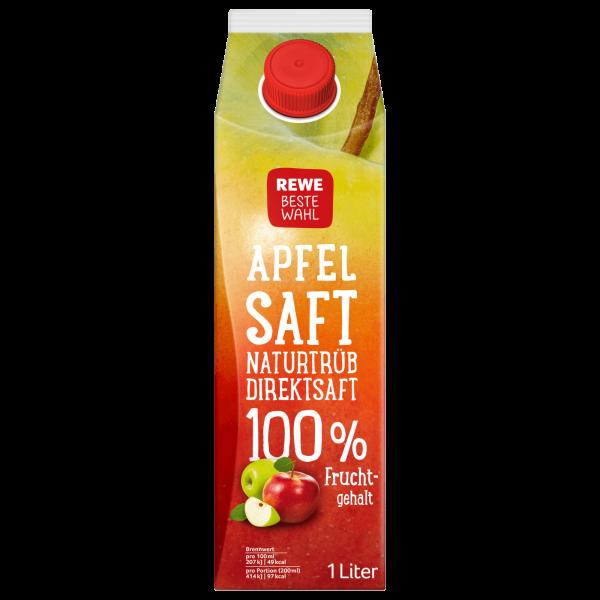 REWE BW Apfelsaft 100% 1L