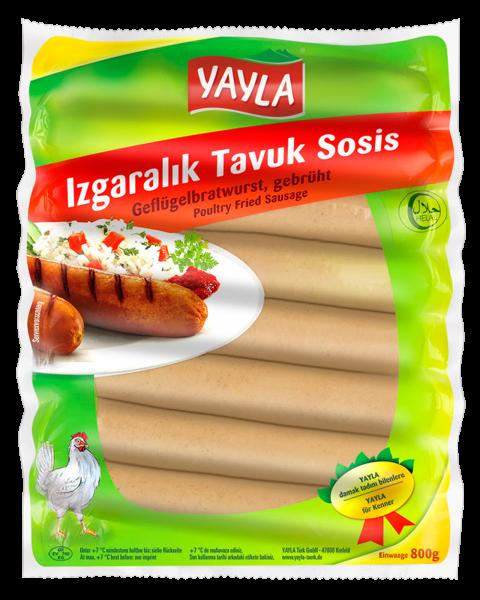 Yayla Geflügelbratwurst - Izgaralik Tavuk Sosis 800g