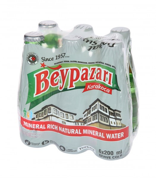 Beypazari Mineralwasser mit Kohlensäure 6 x 200 ml