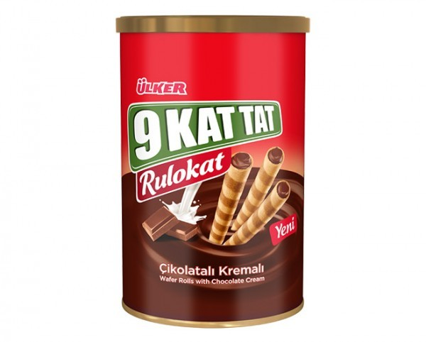 Ülker 9 Kat Tat Rulokat Schoko 230g