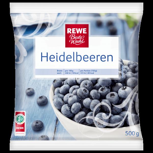 Rewe BW Heidelbeere 500g TK