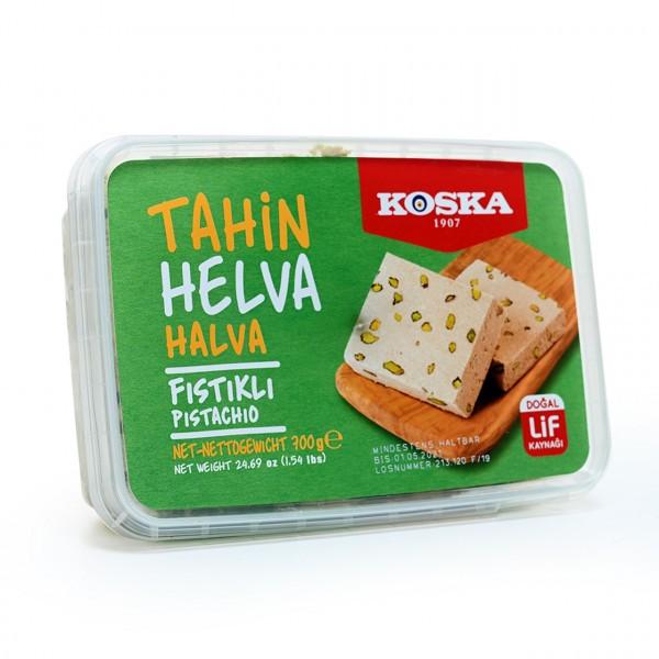 Koska Halva mit Pistazien - Tahin Helva Fistikli 400g