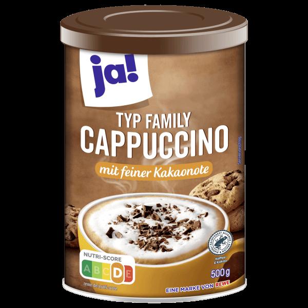 Ja! Family typ Cappuccino mit Feiner Kakaonote 500 g