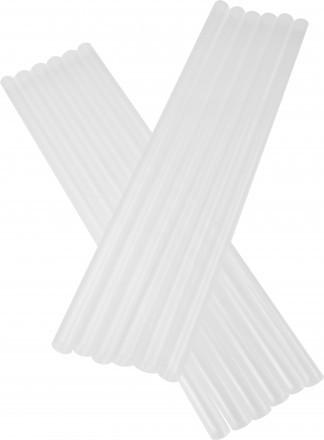 X-Large Trinkhalme Transparent 10x250mm - 100stk