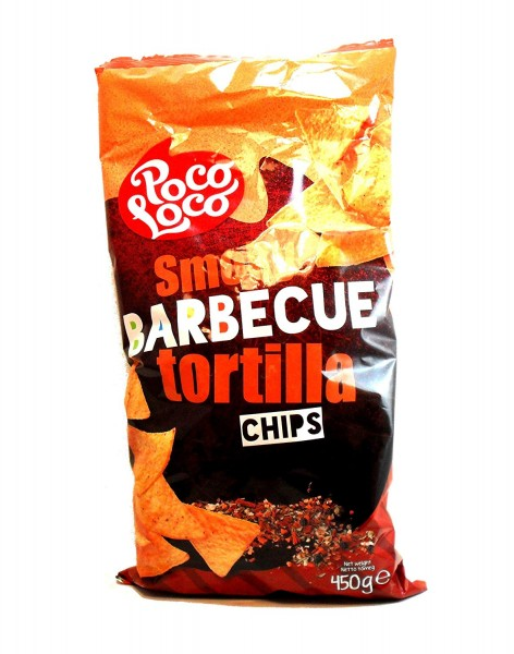 Poco Loco Tortilla Barbecue Nachos 450g