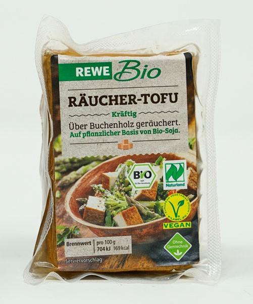 Rewe BIO Räucher-Tofu Kräftig VEGAN 185g