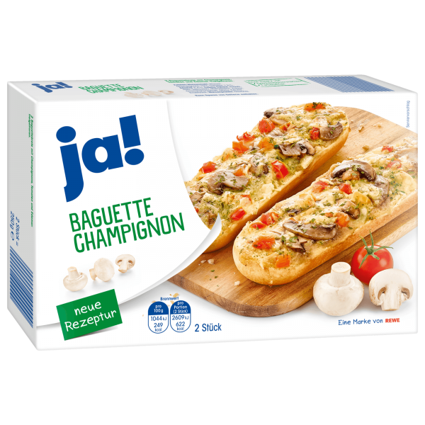 JA! Baguette Champignon 2 Stück 250g