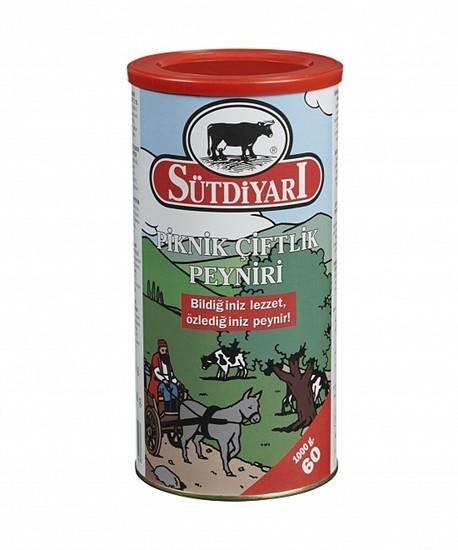 Sütdiyari Weichkäse 60% Fett - Piknik Ciftlik Peyniri 1 Kg