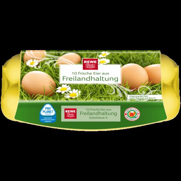 Rewe BW Freilandhaltung Eier 10 sk