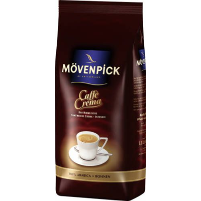 Mövenpick Cafe Crema ganze Bohnen 1kg