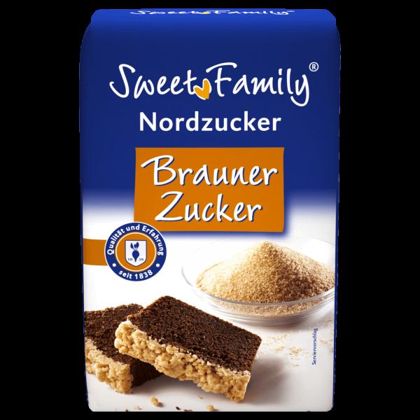 Nordzucker Brauner Zucker 1Kg