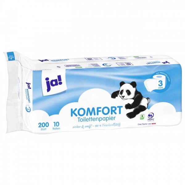 Ja! Toilettenpapier 3 lagig 10x200BL