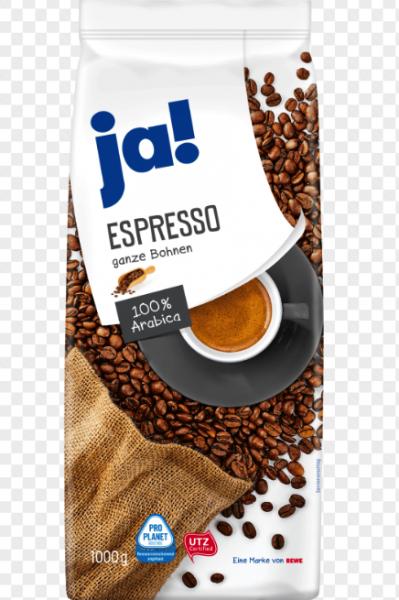 Ja! Espresso ganze Bohnen 1Kg