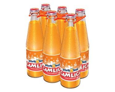 Camlica Brause mit Orangengeschmack 6 x250 ml