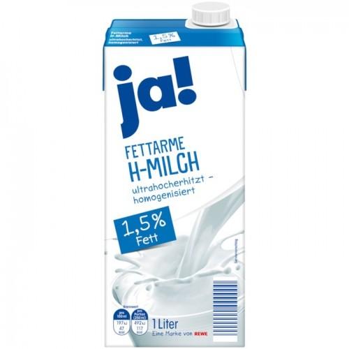 Ja! Milch Fettarm 1,5% - 1L
