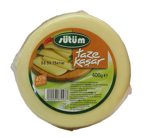 Sütüm Kasar Peynir 400g
