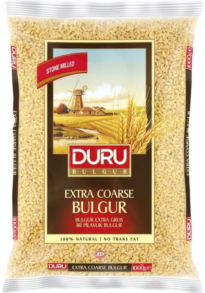 Duru Hartweizengrütze Extra Grob Iri Pilavlik bulgur 1 Kg