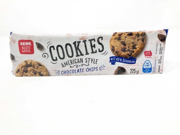 REWE BW Cookies Schokochips 225g