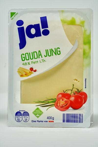 JA ! Gouda Jung 48% Fett i.Tr 400g