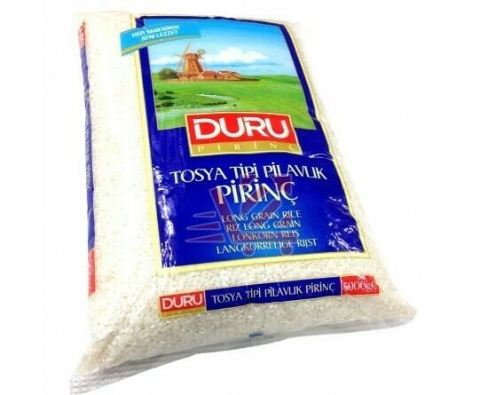 Duru Lonkorn Reis Tosya Tipi Pilavlik Pirinç 5 kg