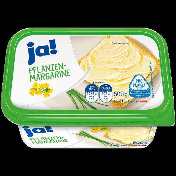Ja! Pflanzen Margarine 500g