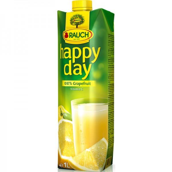Happy day 100% Grapefruit 1l