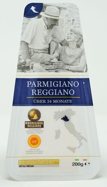 Hartkäse Parmigiano Regiano 200g