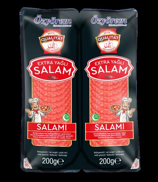 Özyörem Pizza Salami Rind 400g