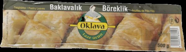 Oklava Teigblätter Baklavalik Yufka 500g