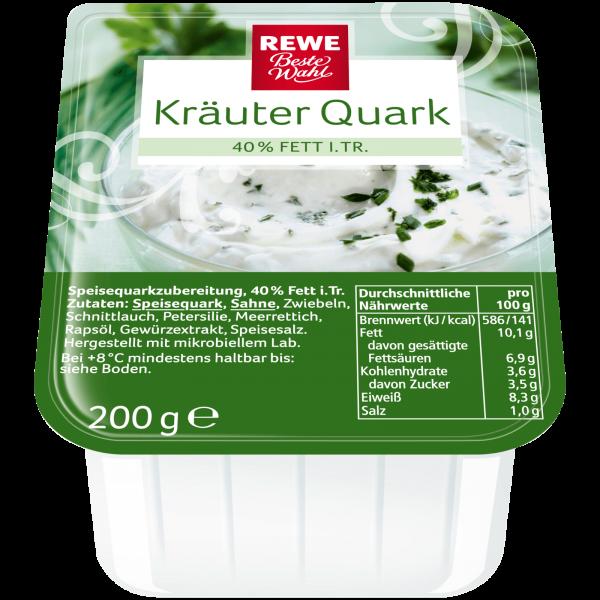 Rewe BW Kräuter Quark 40% Fett I.Tr. 200g