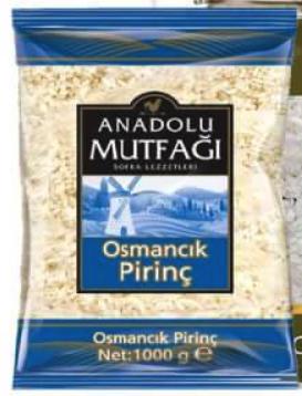 Anadolu Mutfagi Osmancik Reis Osmancik Pirinç 1 kg