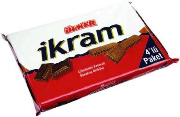 Ülker Ikram Doppelkekse Kakao 4 x 84g=336