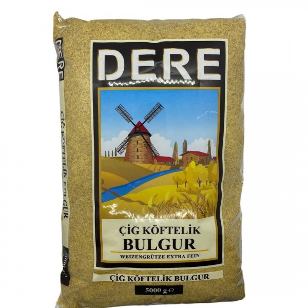 Dere Weizengrütze Extra Fein - Cigköftelik Bulgur 5kg