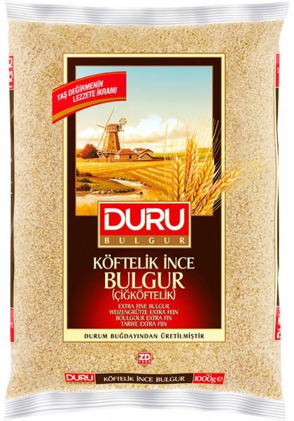 Duru Hartweizengrütze Extra Fein Cigköftelik Bulgur Ince Köftelik 5 Kg