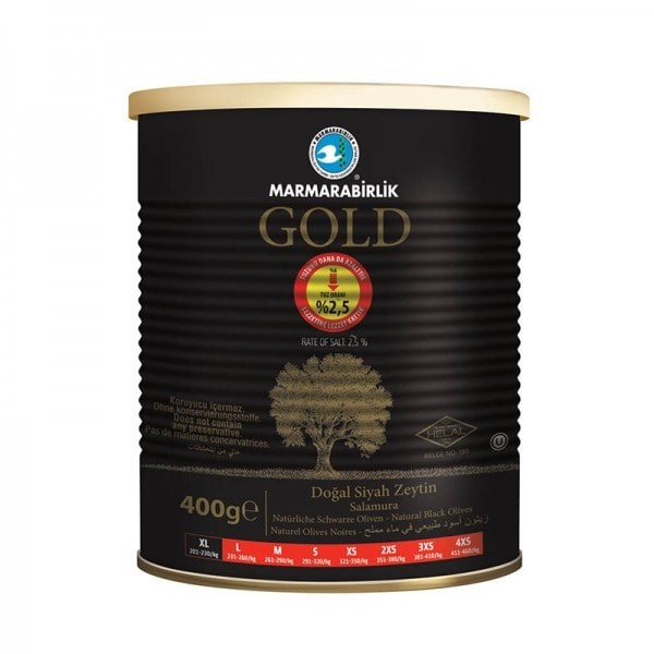 MB Schwarze Oliven - Gold Siyah XL Siyah Zeytin 400g