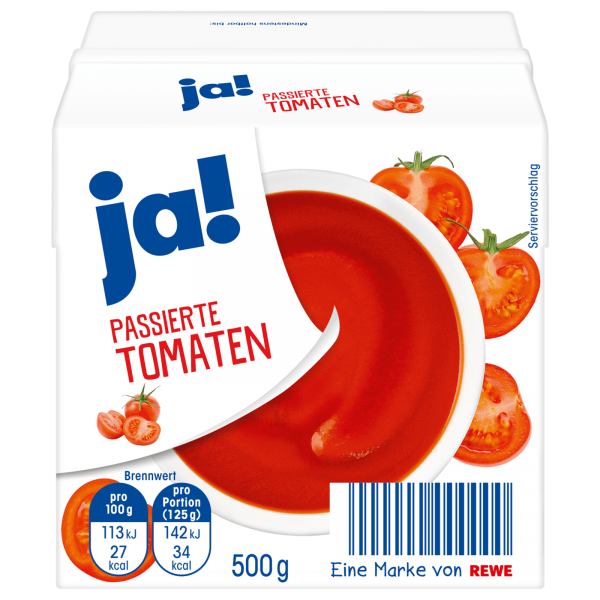 JA! Passierte Tomaten 500g