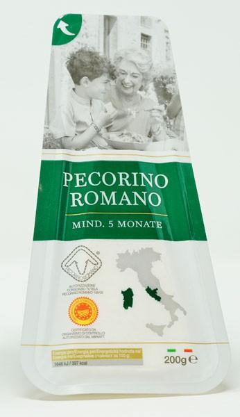 Hartkäse Pecorino Romano 200g