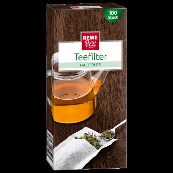 Rewe BW Teefilter Halterlos 100 Stück