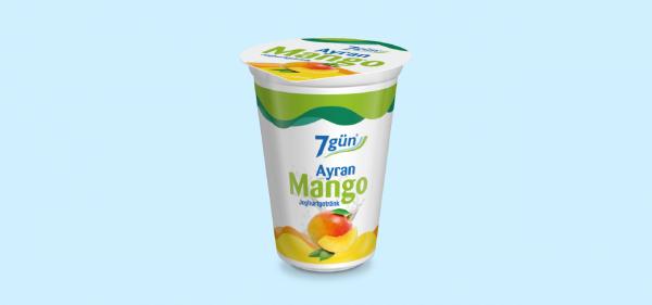 7gün Ayran Mango 250ml