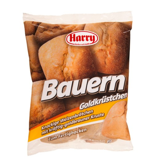 Harry Bauern Goldkrüstchen 6 Brötchen 48